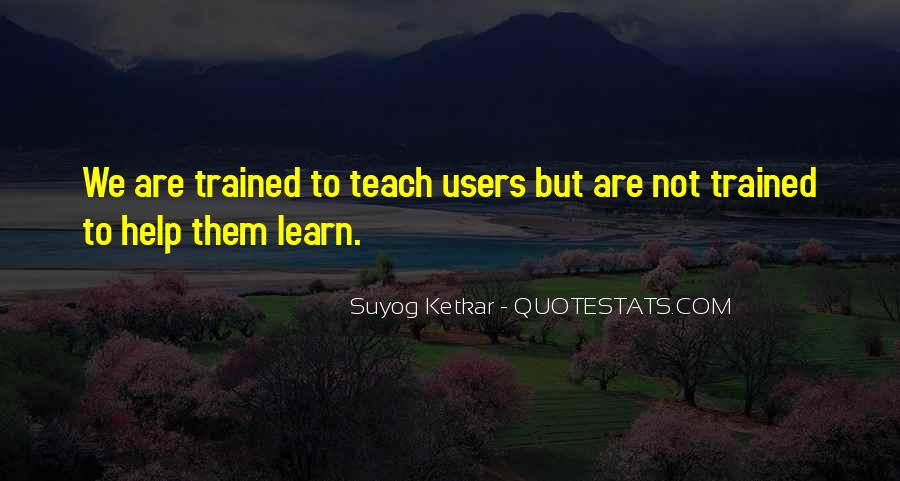 Suyog Ketkar Quotes #59672
