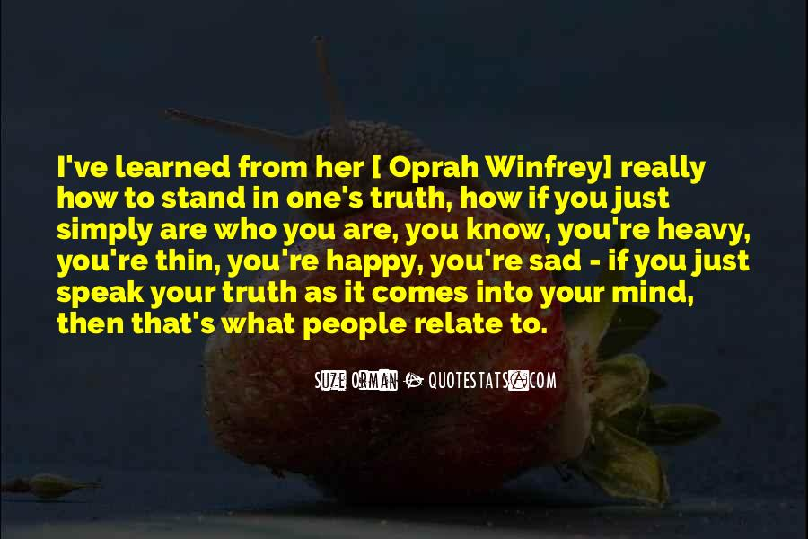 Suze Orman Quotes #373065