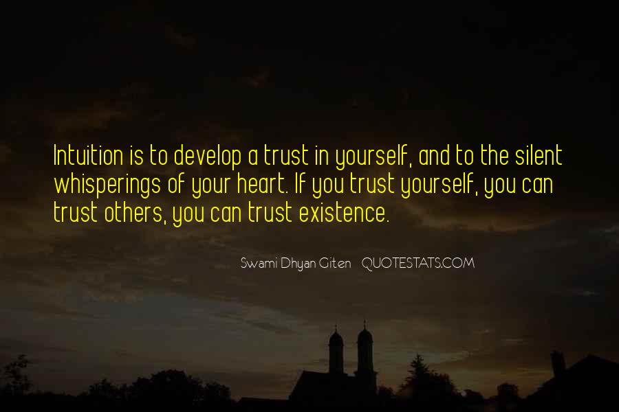 Swami Dhyan Giten Quotes #1002539