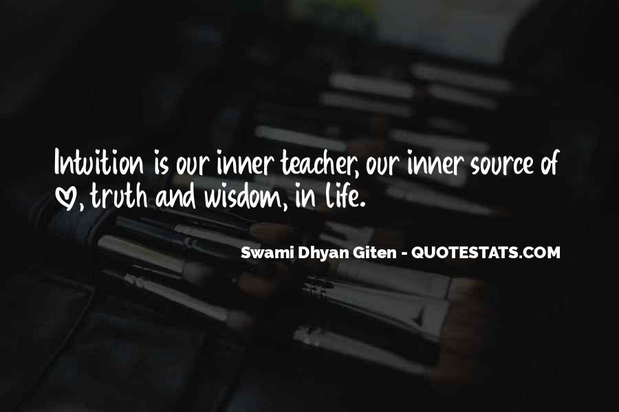 Swami Dhyan Giten Quotes #1157516