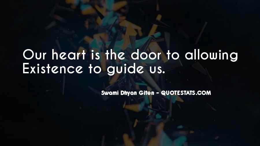 Swami Dhyan Giten Quotes #1274830