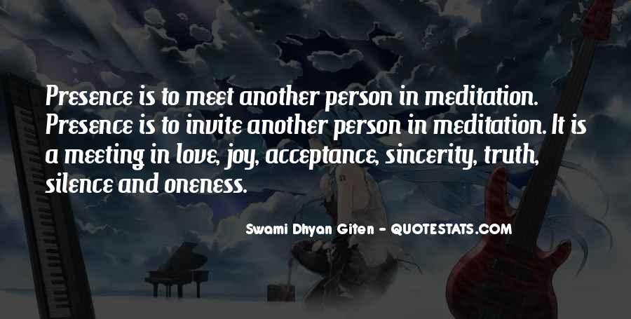 Swami Dhyan Giten Quotes #1293918