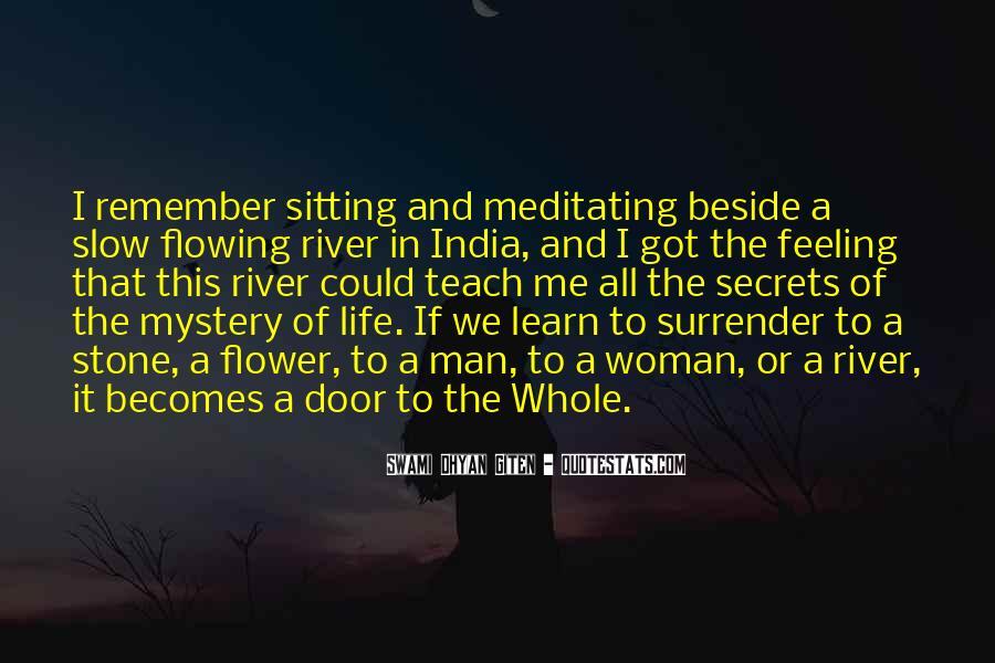 Swami Dhyan Giten Quotes #1392969