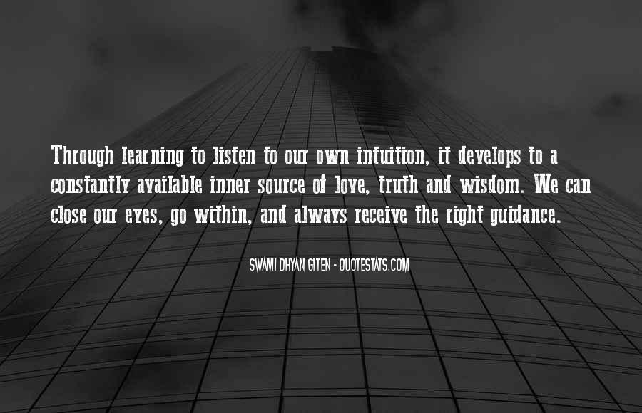 Swami Dhyan Giten Quotes #1669718