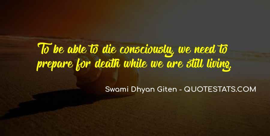 Swami Dhyan Giten Quotes #1872967
