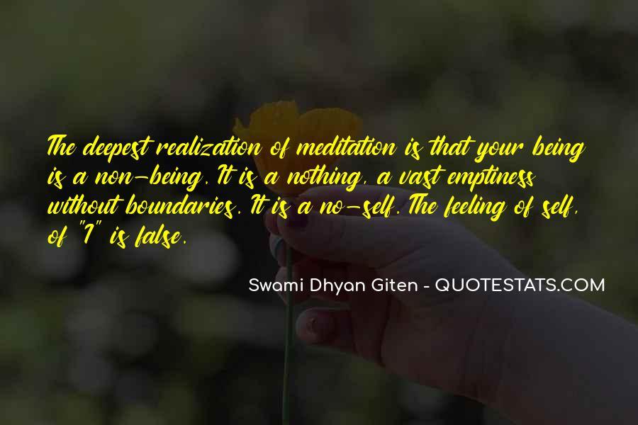Swami Dhyan Giten Quotes #450703