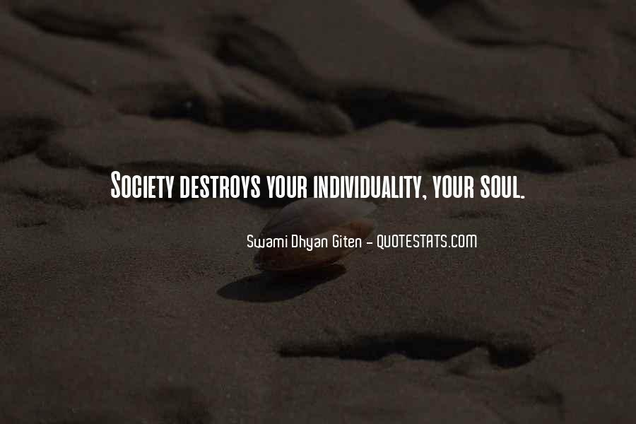 Swami Dhyan Giten Quotes #781748