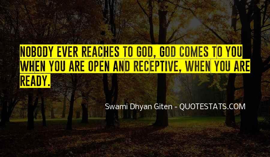 Swami Dhyan Giten Quotes #783457