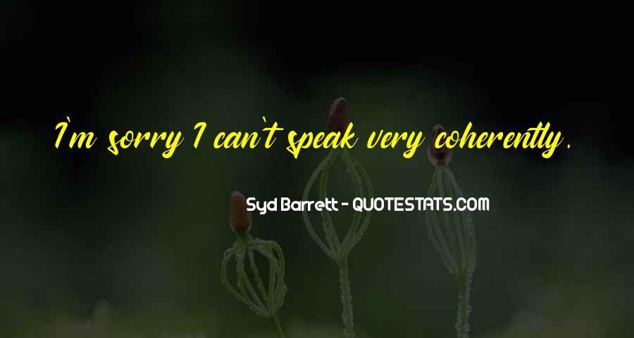Syd Barrett Quotes #1619715