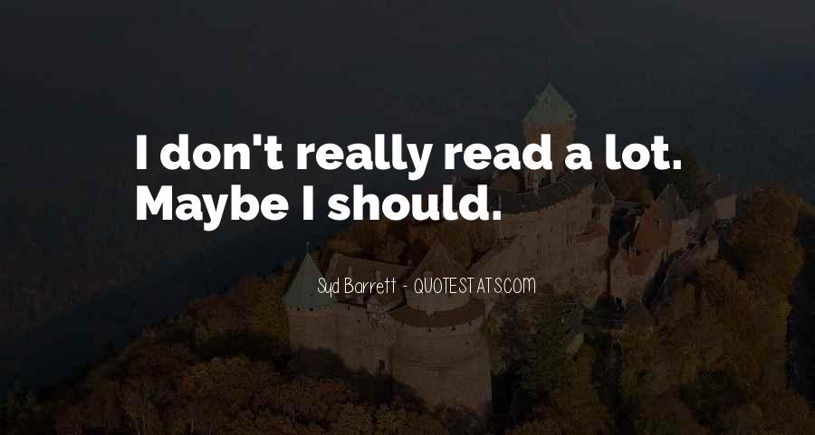 Syd Barrett Quotes #1677668