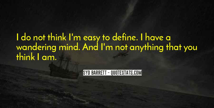 Syd Barrett Quotes #170943