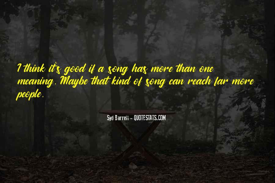 Syd Barrett Quotes #85157