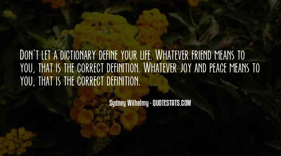 Sydney Wilhelmy Quotes #1768312