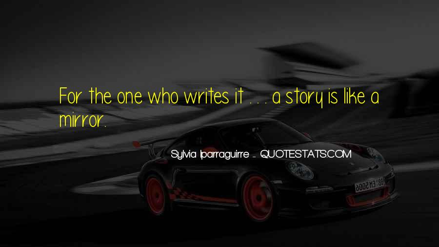 Sylvia Iparraguirre Quotes #797747