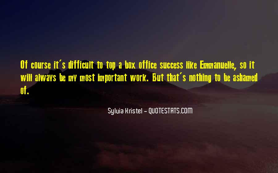 Sylvia Kristel Quotes #915029