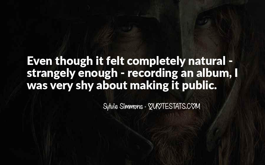 Sylvie Simmons Quotes #549200
