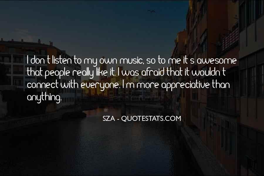 SZA Quotes #162211