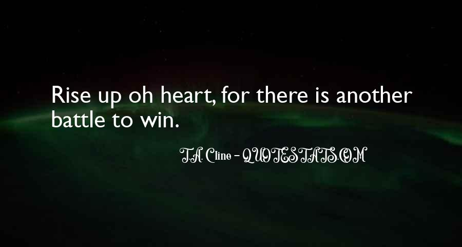 T.A. Cline Quotes #1858983