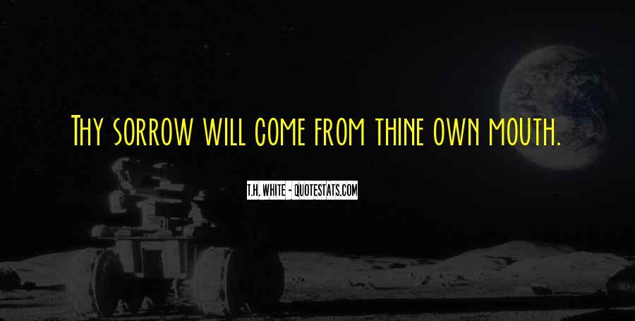 T.H. White Quotes #1673280