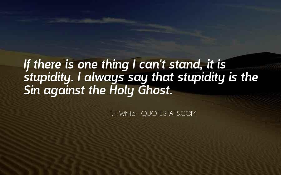 T.H. White Quotes #589891