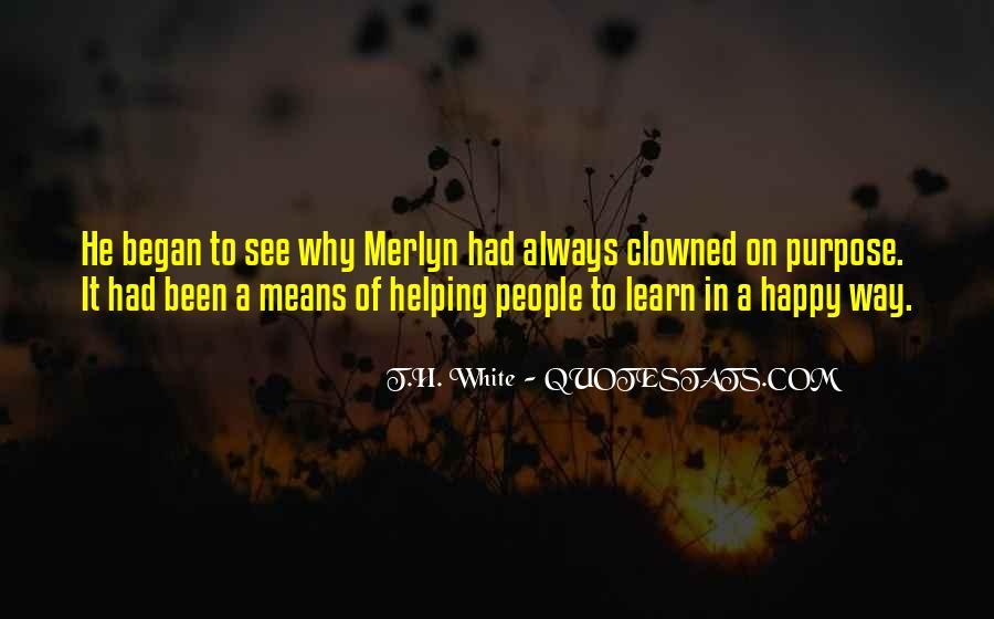 T.H. White Quotes #65564