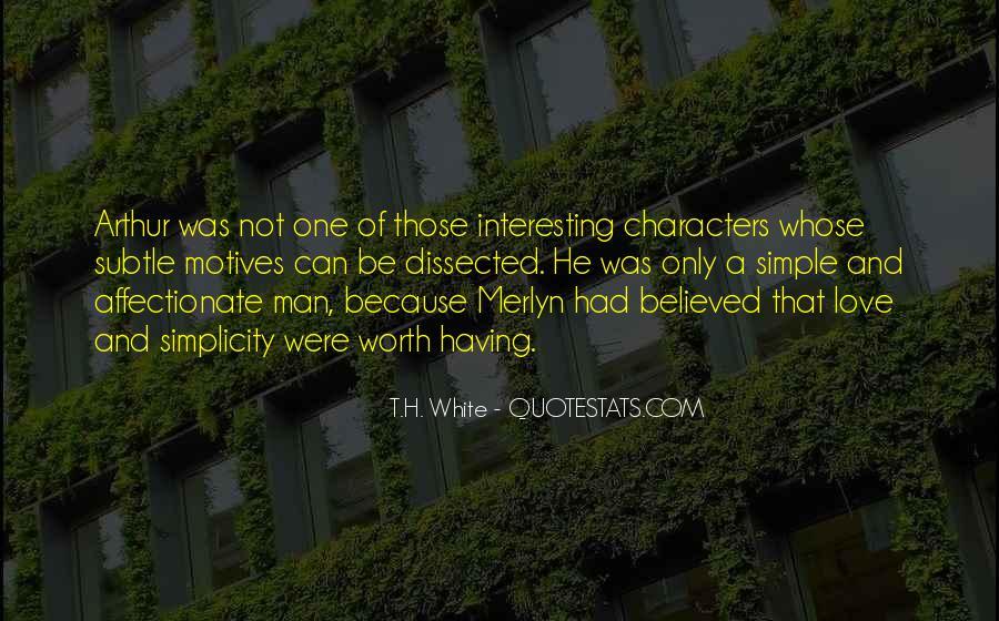 T.H. White Quotes #8814