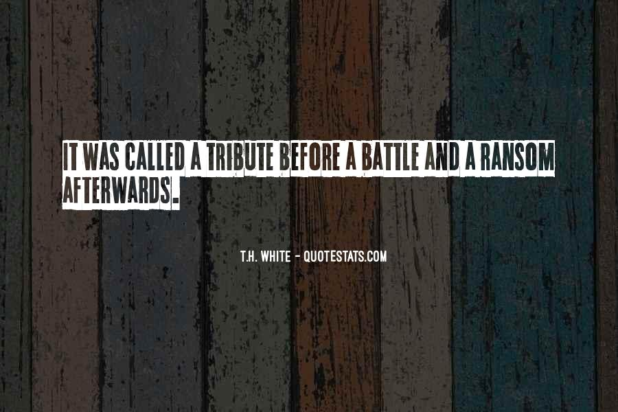 T.H. White Quotes #982523