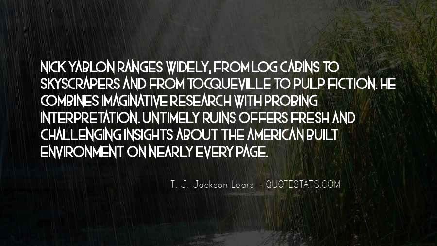 T. J. Jackson Lears Quotes #559201