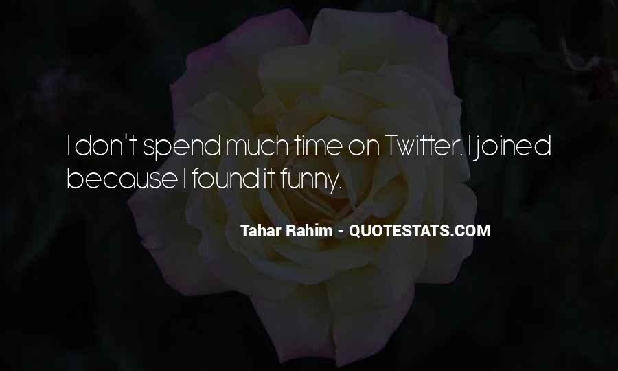 Tahar Rahim Quotes #1424722