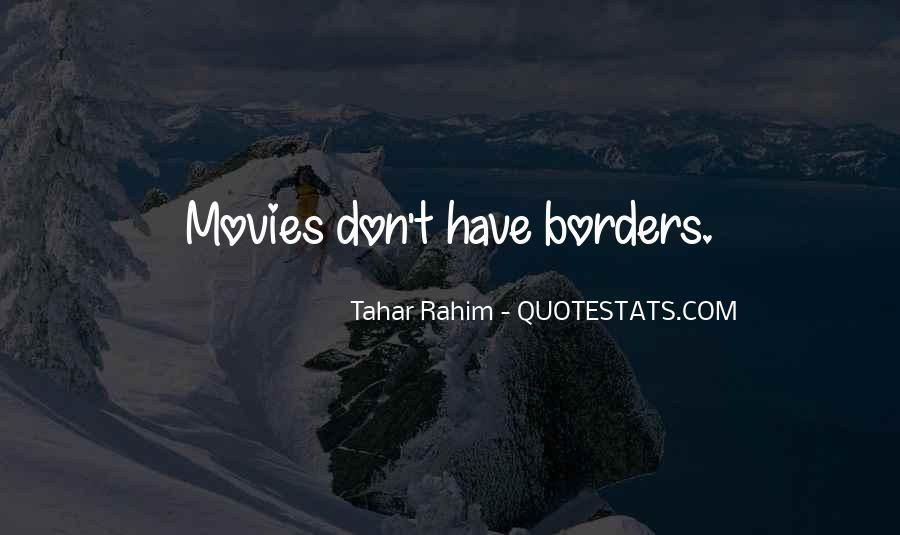 Tahar Rahim Quotes #1442872