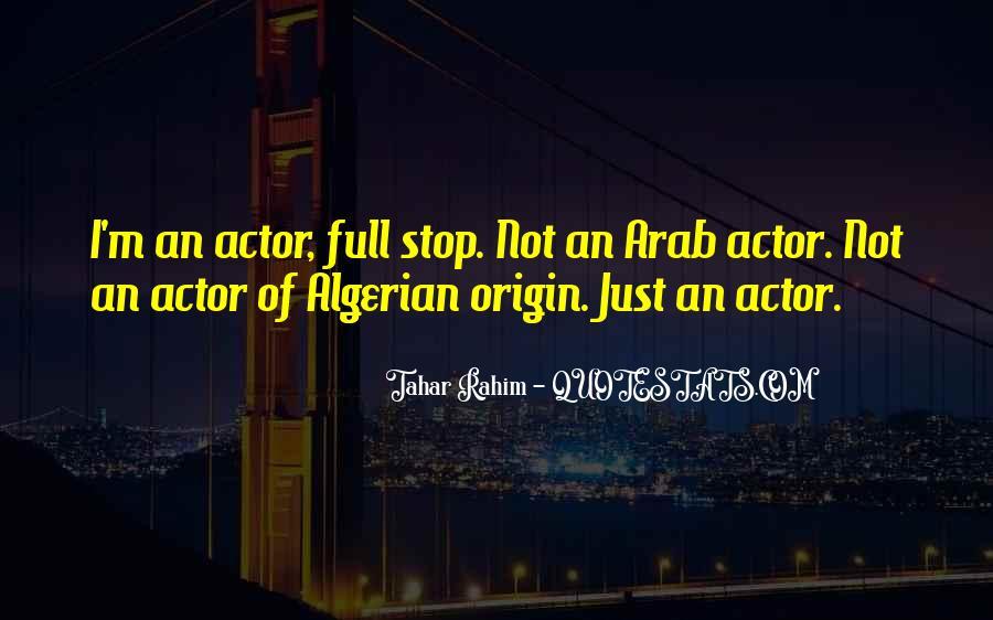 Tahar Rahim Quotes #1765807
