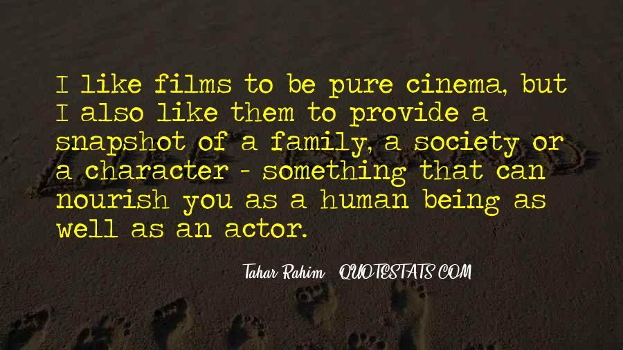 Tahar Rahim Quotes #1816597