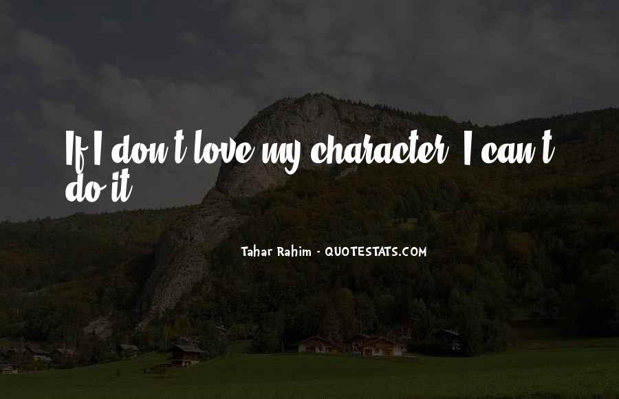 Tahar Rahim Quotes #287584