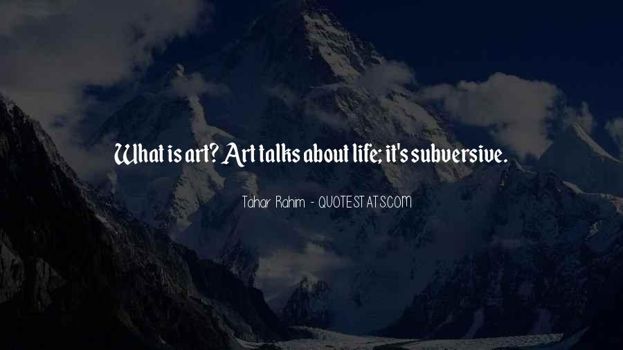 Tahar Rahim Quotes #679760
