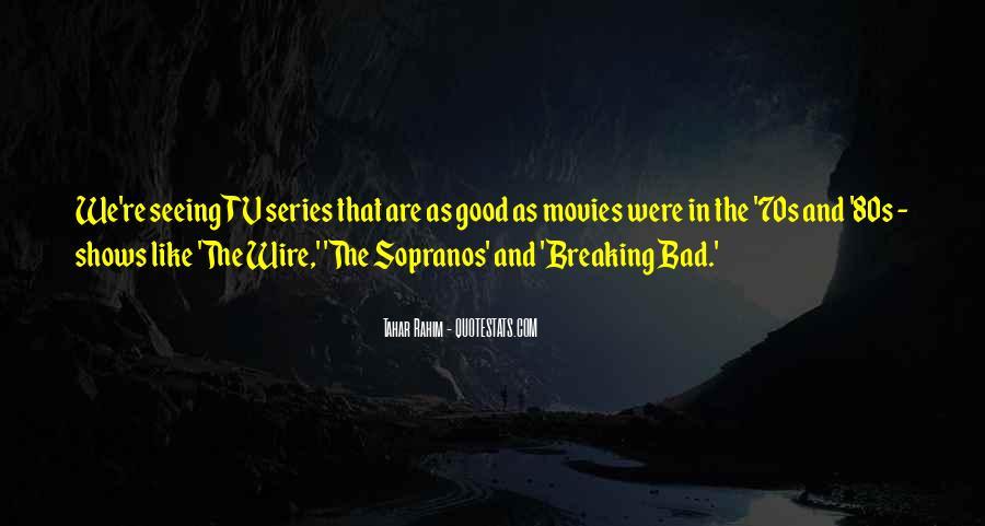 Tahar Rahim Quotes #713629