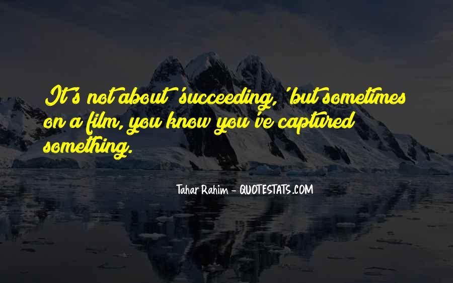 Tahar Rahim Quotes #894039