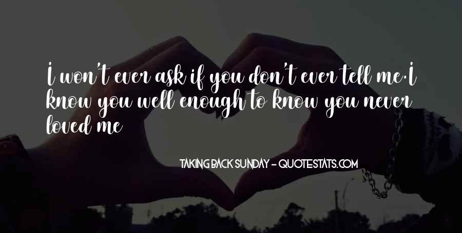Taking Back Sunday Quotes #1567524