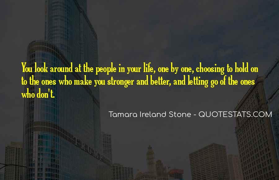 Tamara Ireland Stone Quotes #1089339