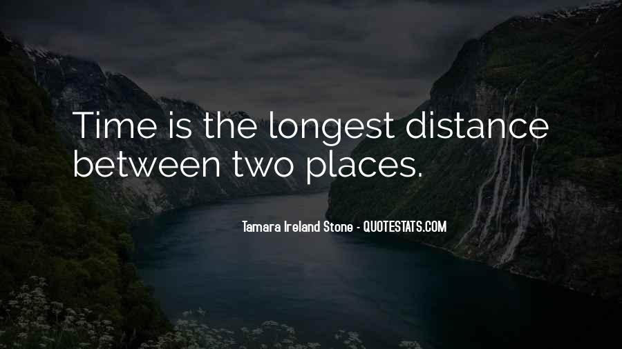 Tamara Ireland Stone Quotes #1218850