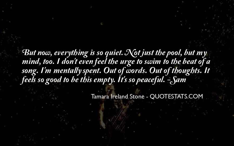 Tamara Ireland Stone Quotes #1338564