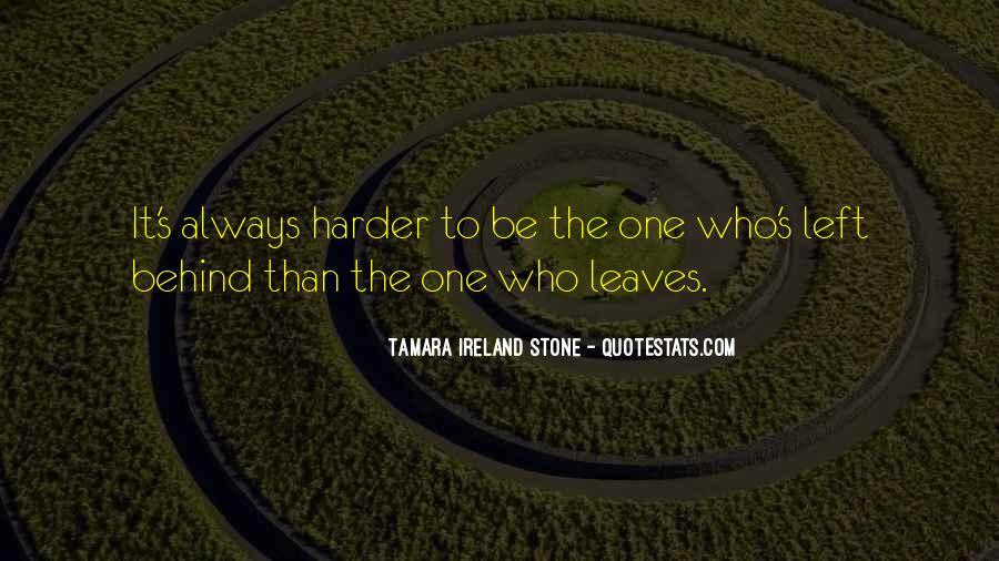 Tamara Ireland Stone Quotes #1481699