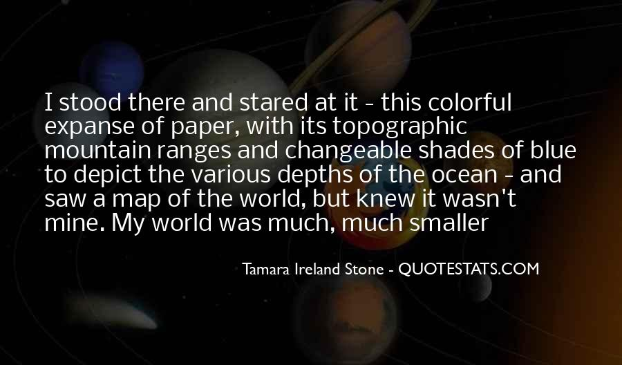 Tamara Ireland Stone Quotes #1507680