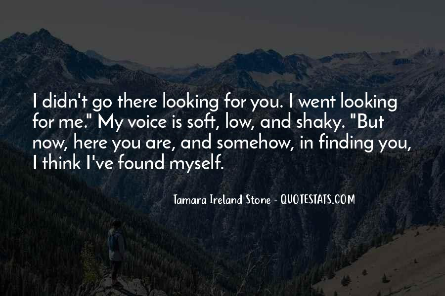 Tamara Ireland Stone Quotes #1546694
