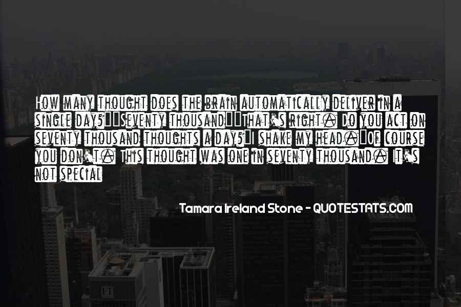 Tamara Ireland Stone Quotes #742572