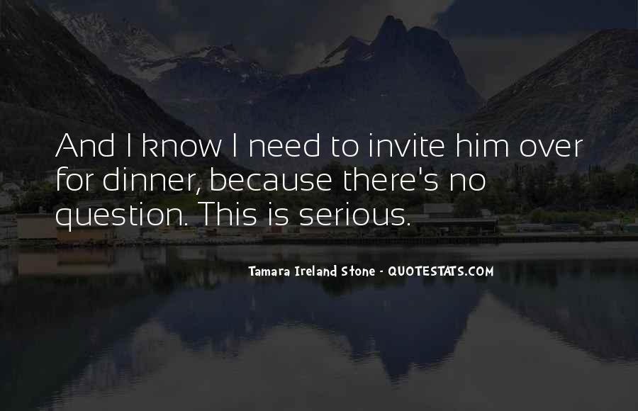 Tamara Ireland Stone Quotes #748918