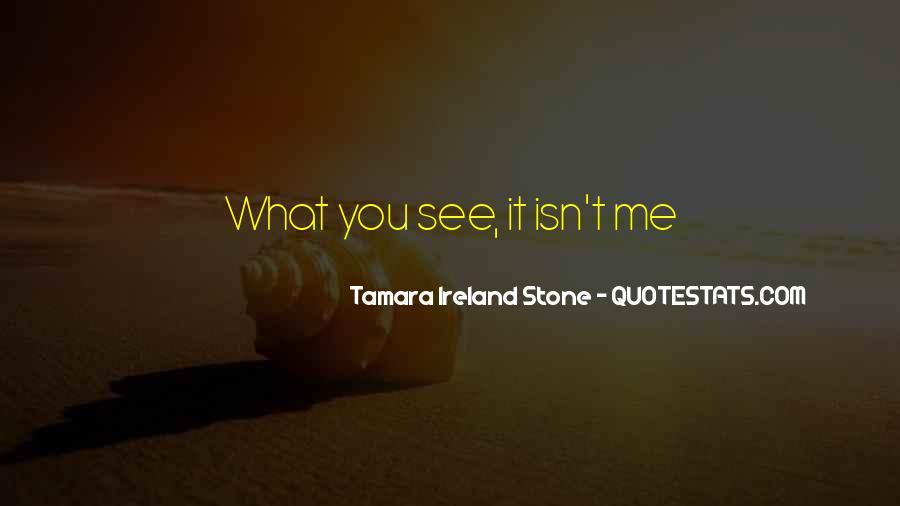 Tamara Ireland Stone Quotes #863383