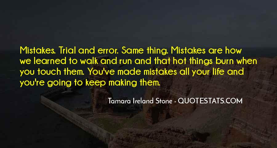 Tamara Ireland Stone Quotes #86563