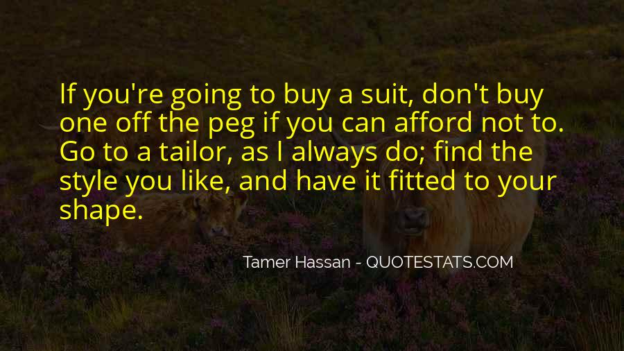Tamer Hassan Quotes #809543