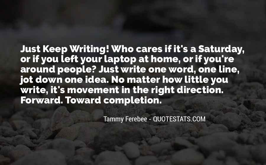 Tammy Ferebee Quotes #18113