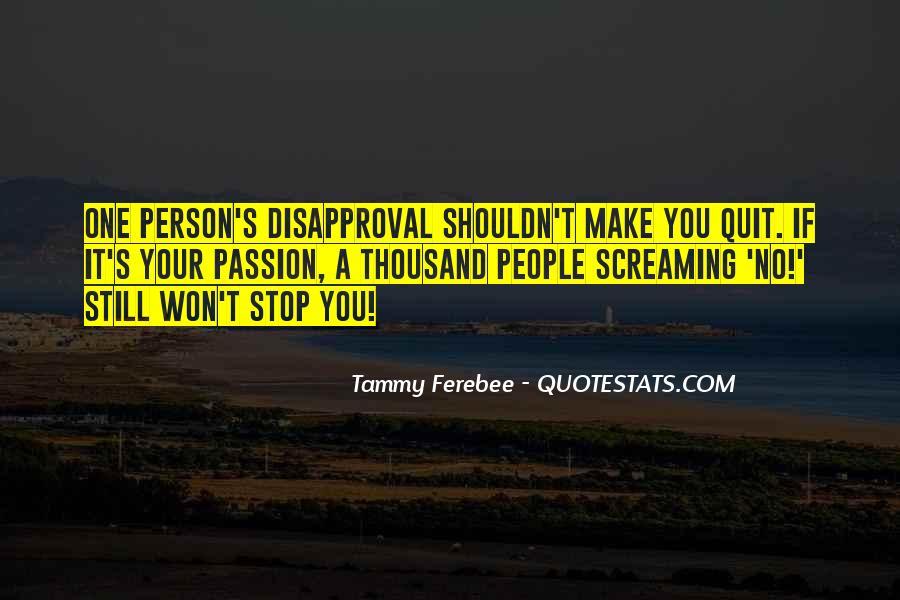 Tammy Ferebee Quotes #981504